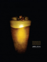 Lasinen Lapsuus: Pint Print Ad by Euro Rscg Helsinki