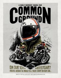 Harley-Davidson: Poster, 2 Print Ad by Zulu Alpha Kilo, Zulubot