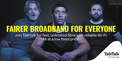 Talktalk: Fairer Broadband For Everyone Print Ad by CHI & Partners London