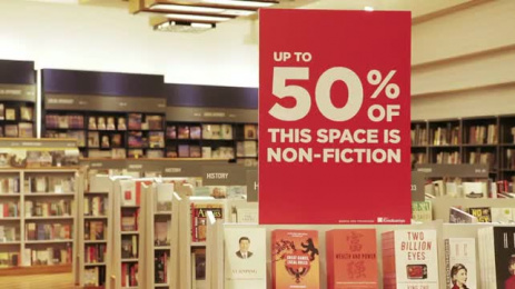 Kinokuniya Book Stores: The No-Promo Promotion Film by J. Walter Thompson Dubai