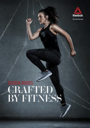 Reebok: Crafted by Fitness, 1 Print Ad by Manifiesto, Petra Garmon