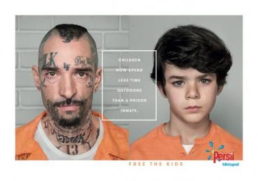Persil: Free the kids, 1 Print Ad by MullenLowe London, Rsa Films