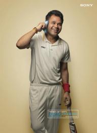 Sony Xperia M4 Aqua: Abdomen Guard Phone Print Ad by ITSA Brand Innovations Ltd, MAP (Manoj Adhikari Productions)