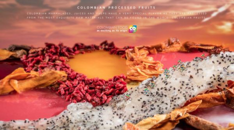 Marca País: Colombian Processed Fruits Print Ad by Sancho BBDO Bogota