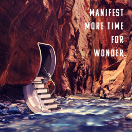 Manifest travel: Mindful travel, 1 Digital Advert by Madwell