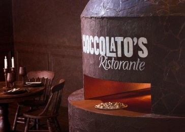 Ristorante: Cioccolatos Oven Design & Branding by Heyd & Seek, John St