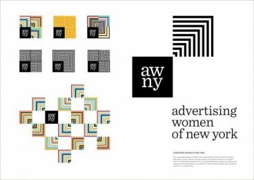 Advertising Women Of New York: ADVERTISING WOMEN OF NEW YORK Design & Branding by COLLINS, Rapp Collins Worldwide
