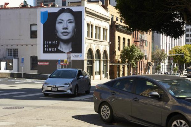 Blue Shield Of California: Choice Is Power, 2 Outdoor Advert by Butler, Shine, Stern & Partners San-Francisco