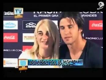 Racing Football Club: CARNETS Promo / PR Ad by Kepel & Mata