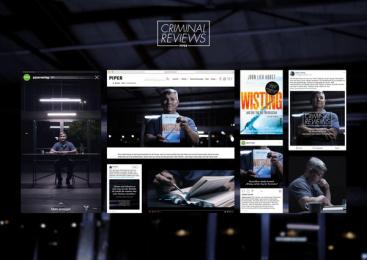 Piper Verlag: Criminal Reviews, 3 Digital Advert by Serviceplan Munich
