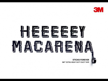 3M: Hey Macarena, 3 Outdoor Advert by Cheil Germany
