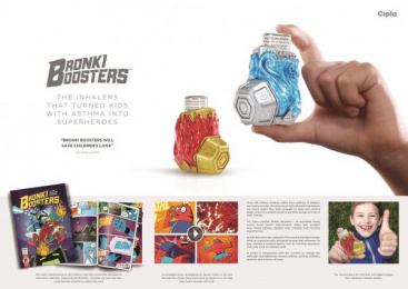 Cipla: Bronki Boosters, 5 Print Ad by Native VML Johannesburg