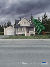 Bcaa: Tree Print Ad by DDB Vancouver