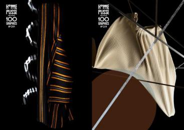 Issey Miyake: 100 Graphics By Homme Plisse Issey Miyake, 6 Design & Branding by Boat Tokyo, Grandpa Tokyo, Q Tokyo