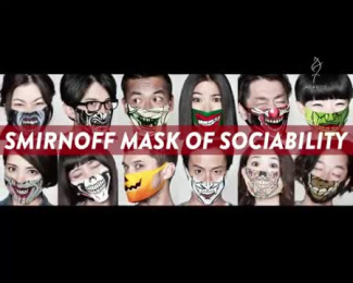 Smirnoff Ice: Mask Of Sociability [video] Direct marketing by Beacon Communications Tokyo