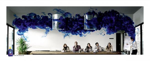 Dynamo: INK Print Ad by Saatchi & Saatchi Malaysia