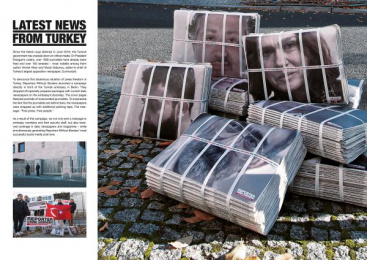 Reporters Without Borders: Latest news from Turkey, 2 Design & Branding by Leo Burnett Frankfurt