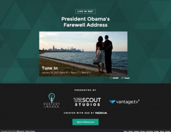 The White House: Obama Farewell Digital Advert