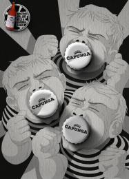 Capunga: Children Print Ad by Martpet Comunicacao