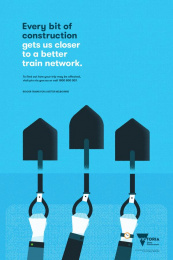 Victorian Government: Every Bit, 3 Print Ad by GPY&R Melbourne, Pixel Group