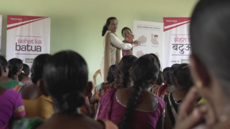 Mahindra: The Health Purse (Sehat Ka Batua) [Supporting Images] 4 Direct marketing by Grey Mumbai