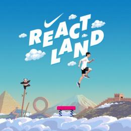 Nike: ReactLand, 2 Print Ad by Wieden + Kennedy Shanghai