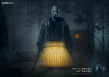 Samsung: No reflections, 3 Print Ad by Leo Burnett Frankfurt