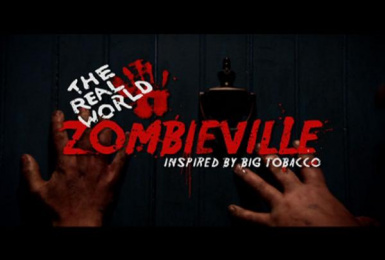 American Legacy Foundation: Zombieville Print Ad by Mtv On-air Promos