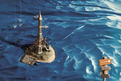 Mundi: Paris Print Ad by Heads Propaganda