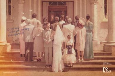 IAB- Instituto Alzheimer Brasil: Wedding Print Ad by Publicis Sao Paulo