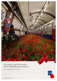 The Royal British Legion: Rethink Remembrance, 7 Print Ad by Unit 9 London, Y&R London
