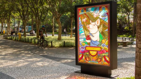 POBRE JUAN: Sacred Poster, 4 Outdoor Advert by Dentsu Latin America Sao Paulo