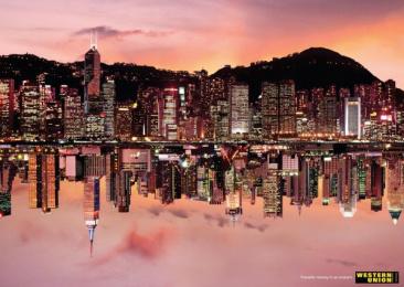 Western Union: HONG KONG - NY Print Ad by Saatchi & Saatchi Vietnam