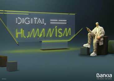 Bankia: Digital Humanism, 3 Print Ad by Attic Films, CLV Madrid