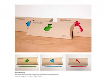 Pencils of Promise: Build the I'mpossible Integrated, 3 Direct marketing by Columbus College of Art and Design (CCAD)