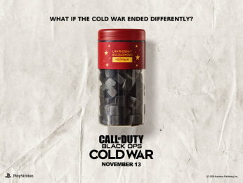 Activision: What if the Cold War ended differently?: Lakrits Print Ad by Stendahls