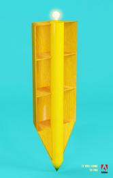 Adobe: Pencil Print Ad by Miami Ad School Miami