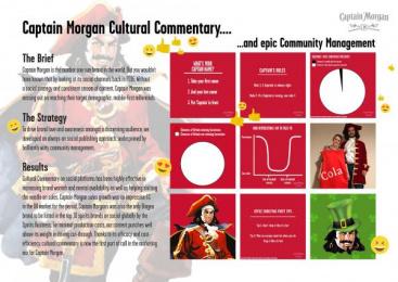 Captain Morgan: Captain Morgan Digital Advert by Gravity Road London