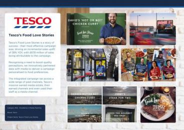 Tesco: Tesco Outdoor Advert by Mediacom London