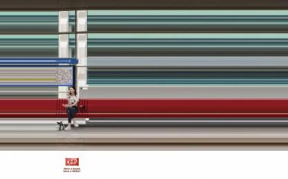 Kit-kat: Metro Station Print Ad by J. Walter Thompson Casablanca