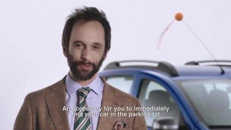 Dacia Sandero: Car Detection Antenna Topper Film by Publicis Lisbon