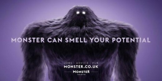Monster.com: Potential Outdoor Advert by Curious Film, mcgarrybowen London