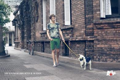 Aruba: Dog Print Ad by MullenLowe SSP3 Bogota