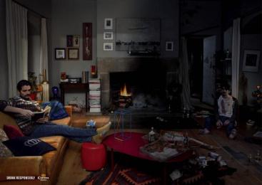 Corona Extra: LIVING ROOM Print Ad by J. Walter Thompson Barcelona