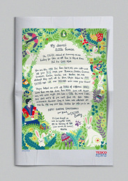 Tesco: The Easter Letter Print Ad by Rothco Dublin