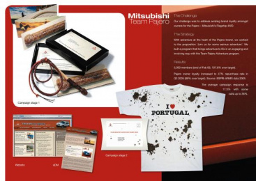 Mitsubishi Pajero: TEAM ADVENTURE PROGRAMME Direct marketing by Clemenger Proximity