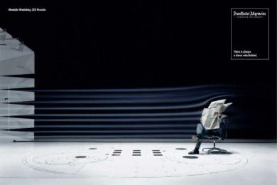 Frankfurter Allgemeine Zeitung: WIEDEKING Print Ad by Scholz & Friends Berlin