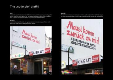 Holsten Beer: CUTIE PIE Print Ad by Scholz & Friends Hamburg
