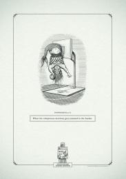 Gui Ling Yuan Fang Tea: Poophemisms 'Merman' Print Ad by Y&R Johannesburg