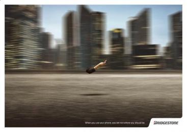 Bridgestone: City Print Ad by Plataforma Montevideo